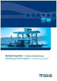 Technische Informationen technical information - ROHR Bagger Home