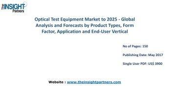 Optical Test Equipment Market to 2025