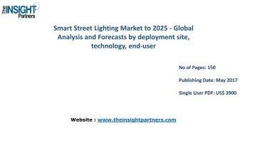 Global Smart Street Lighting Market to 2025