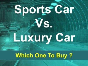 luxury vs sports