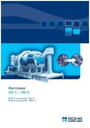 Hurricane HS 1 / HS 5 - ROHR Bagger Home