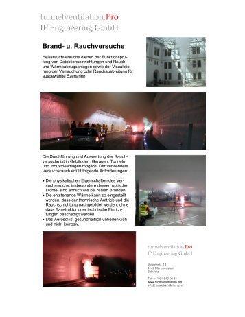 Brandversuche | IP Engineering GmbH