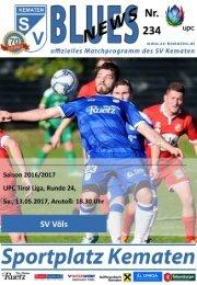 Blues News 234: das Derby gegen den SV Völs