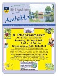Amtsblatt vom 26.04.2012 (KW 17) - Gemeinde Böhl-Iggelheim