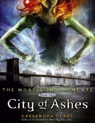 The Mortal Instruments City Of Ashes Ebook