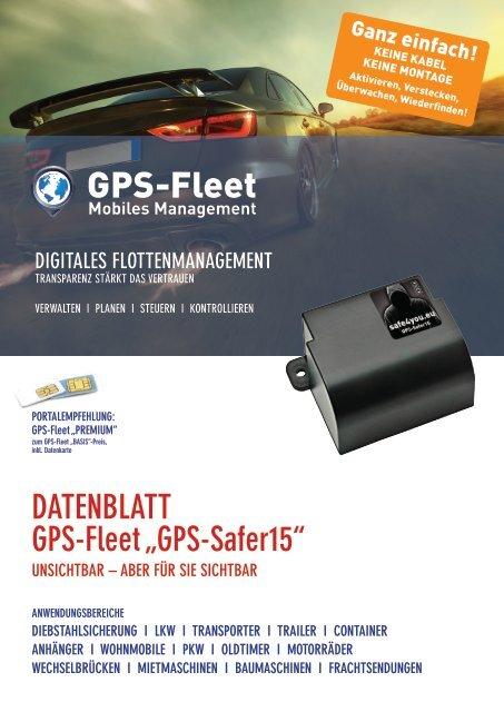 Datenblatt Safer15