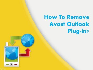 How To Remove Avast Outlook Plugin?