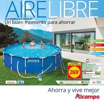 ALCAMPO Catálogo AIRE LIBRE del 12 de Mayo al 12 de Junio 2017