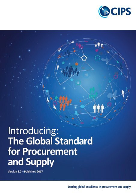 Introducing the Global Standard for Procurement and Supply
