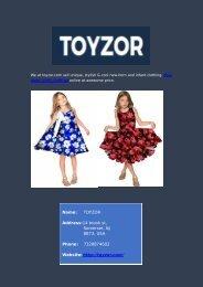 Buy Children Clothing Online