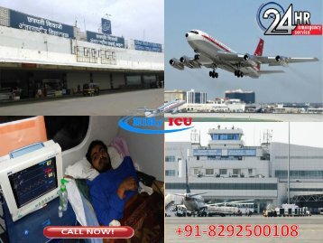 Advanced Life Support Air Ambulance Facility in Mumbai and Chennai by Hifly ICU