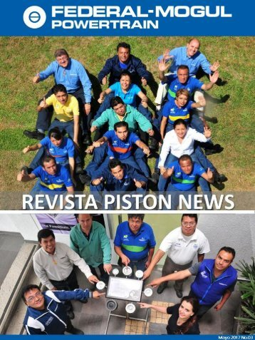 "Revista ""Piston News"" Federal-Mogul Powertrain"