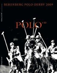 BerenBerg Polo-DerBy 2009 - Polo+10 Das Polo-Magazin