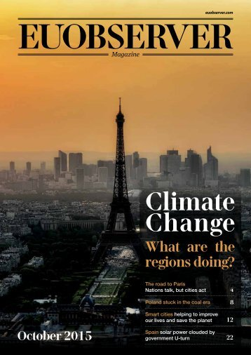 Climate change: What are the regions doing?