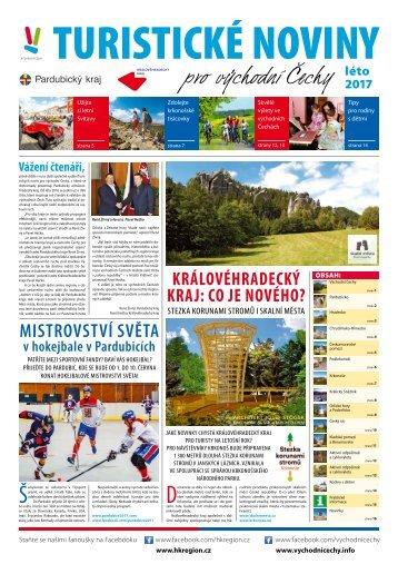 Turistické noviny pro východní Čechy - léto 2017
