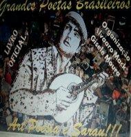 Livro poesia Alvaro