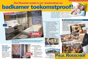 Paul Roescher advertentie Keukenkabinet
