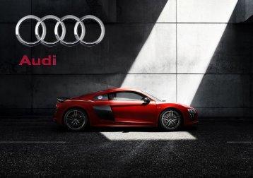 Audi Produktkatalog