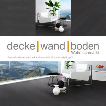 dwb Produktinformation Parkett Landhausdiele geölt Eiche Kapstadt AOR1320