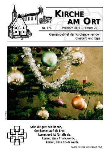 Termine - Evangelische Kirchengemeinden Cleeberg und Espa