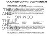 """CAA Berlin Benefiz-Auktion – """"The Up and Coming"""" - Contemporary ..."""