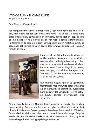 Thomas Kluge 2011
