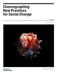 Choreographing New Practices for Social Change