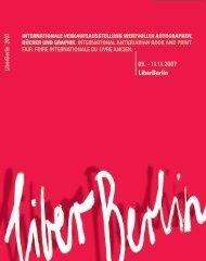 InternatIonale Verkaufsausstellung wertVoller ... - LiberBerlin