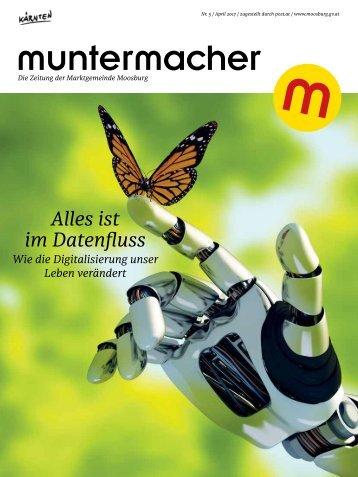 Muntermacher, Ostern 2017