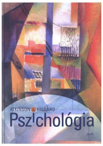 Richard C. Atkinson - Ernest Hilgard - Pszichológia (2)