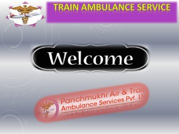 Get Wold Best Train Ambulance from Delhi Patna