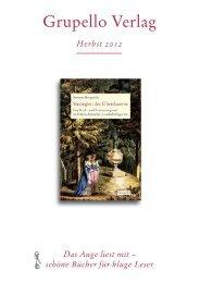 Vorschau Herbst 2012 - Grupello Verlag Bruno Kehrein