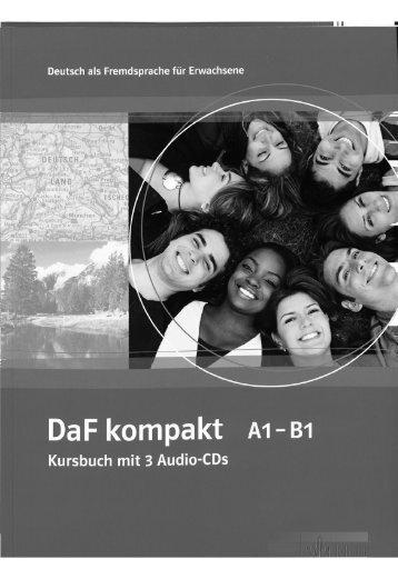 DaF kompakt A1 - B1. Kursbuch