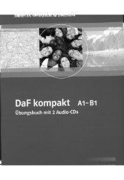 DaF kompakt A1 - B1. Uebungsbuch