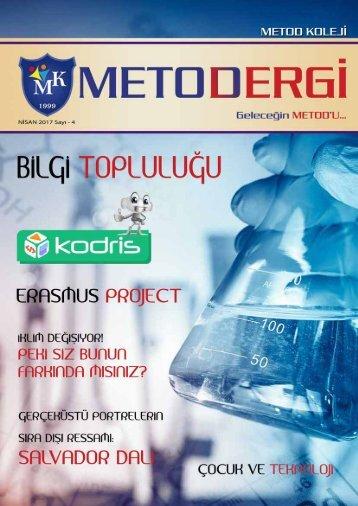 Metod Koleji Dergisi - 4. Sayı (Nisan 2017)