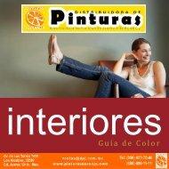 Catálogo guía del color para INTERIORES de pinturas NARANJA