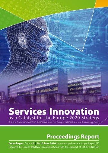 Services Innovation - Europe Innova