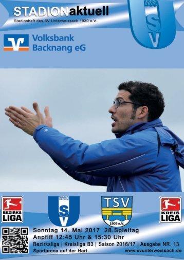 SV Unterweissach - TSV Sulzbach-Laufen