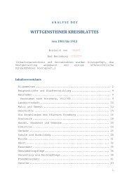 wittgensteiner kreisblattes - Wittgensteiner Heimatverein e.V.