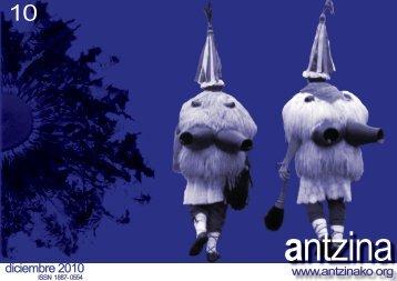 diciembre 2010 - Antzinako