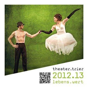 Spielzeitheft download - Theater Trier