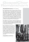 KONZERTPROGRAMM - Pentorama Amriswil - Seite 7