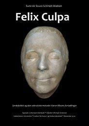 Felix Culpa. Syndefaldet og den sokratiske metode i