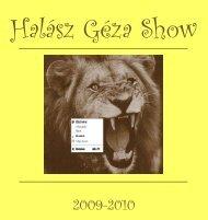 Halász Géza Show 2009-2010