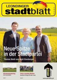 Infrastrukturbeitrag - ÖVP Leonding