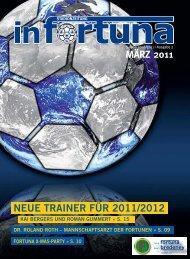 """MÃ""""RZ 2011 NEUE TRAINER FÃœR 2011/2012 - Spvg. Fortuna Essen ..."""