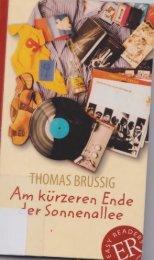 Am kürzeren Ende der Sonnenallee, Thomas Brussig