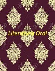 Literatura Oral (libro)