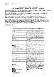 Bayrisches Wörterbuch