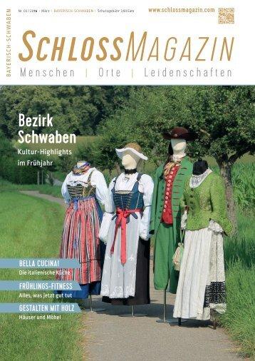 SchlossMagazin Bayerisch-Schwaben März 2016